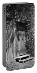 Happy Hollow Outhouse Portable Battery Charger
