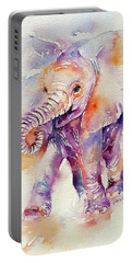 Happy Holly Baby Elephant Portable Battery Charger