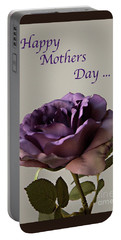 Happy Mothers Day No. 2 Portable Battery Charger by Sherry Hallemeier