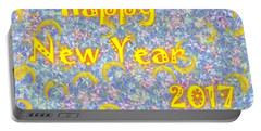 Happy New Year 2017 Portable Battery Charger