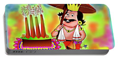 Happy Onam Portable Battery Charger