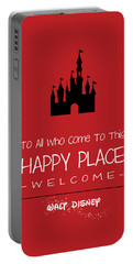 Happy Place Portable Battery Charger