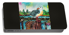 Happy Seagull Perch Portable Battery Charger