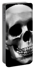 Happy Skull Portable Battery Charger