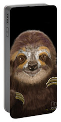 Happy Three Toe Sloth Portable Battery Charger