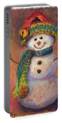 Happy Snowman Portable Battery Charger