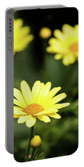Happy Summer Flowers Portable Battery Charger