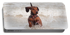 Happy Surf Dog Portable Battery Charger