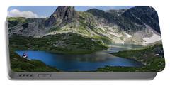 Haramiya Mountain-twin Lake-2 Portable Battery Charger