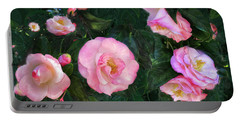 Portable Battery Charger featuring the digital art Harbingers Of Spring by Gina Harrison