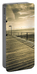 Harbor Beach Michigan Boardwalk Portable Battery Charger