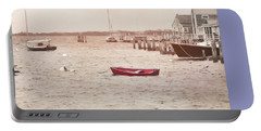 Harbor Red Portable Battery Charger