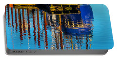 Harbor Reflections Portable Battery Charger by Garry Gay