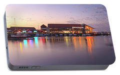 Portable Battery Charger featuring the photograph Harbour Lights, Hillarys Boat Harbour by Dave Catley