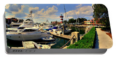Harbour Town Marina Sea Pines Resort Hilton Head Sc Portable Battery Charger
