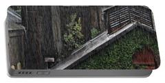 Hard Rain Portable Battery Charger by DJ Florek