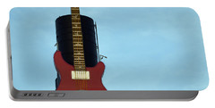 Hard Rock Cafe Portable Battery Charger by Joseph Skompski