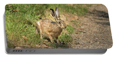 Hare In The Woods Portable Battery Charger