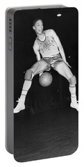 Harlem Clowns Basketball Portable Battery Charger by Underwood Archives