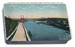 Portable Battery Charger featuring the photograph Harlem River Speedway by Cole Thompson