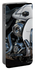 Portable Battery Charger featuring the photograph Harley Davidson 15 by Wendy Wilton