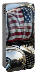 Harley Davidson 7 Portable Battery Charger by Wendy Wilton