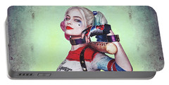Harley Quinn Portable Battery Charger