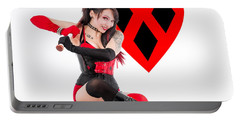Harley Quinn Ready To Swing Portable Battery Charger