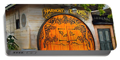 Portable Battery Charger featuring the photograph Harmony Chapel Harmony California by Barbara Snyder