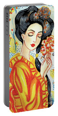 Harmony Flower Portable Battery Charger