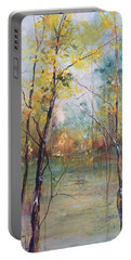 Harmony In Perfect Key Portable Battery Charger by Robin Miller-Bookhout