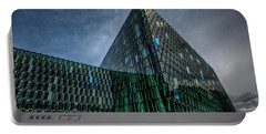 Harpa Portable Battery Charger by Wade Courtney