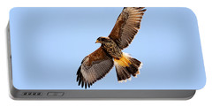 Portable Battery Charger featuring the photograph Harris's Hawk H37 by Mark Myhaver