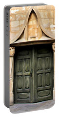 Portable Battery Charger featuring the photograph Harry Potter Style Door by Katie Wing Vigil