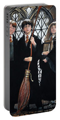 Harry Potter Portable Battery Charger by Tom Carlton