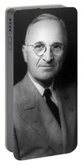 Harry S Truman - President Of The United States Of America Portable Battery Charger