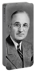 Harry Truman - 33rd President Of The United States Portable Battery Charger
