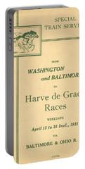 Harve De Grace Races Portable Battery Charger