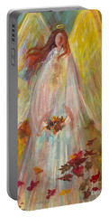 Harvest Autumn Angel Portable Battery Charger