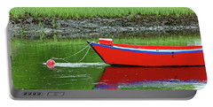 Harwich Rowboat Portable Battery Charger by Jim Gillen
