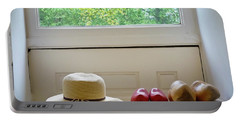 Hat And Clogs Portable Battery Charger