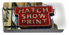 Hatch Show Print Portable Battery Charger