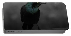 Haunting Portable Battery Charger by Barbara S Nickerson