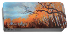 Haunting Glow Portable Battery Charger by Andrew Danielsen