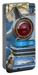 Portable Battery Charger featuring the photograph Havana Cuba Vintage Car Tail Light by Joan Carroll