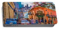 Havana In Bloom Portable Battery Charger