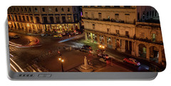 Portable Battery Charger featuring the photograph Havana Nights by Joan Carroll