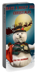 Have A Holly Jolly Christmas Portable Battery Charger