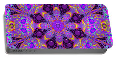 Portable Battery Charger featuring the digital art Have You Seen Her by Robert Orinski
