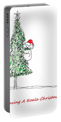 Having A Koala Christmas Portable Battery Charger